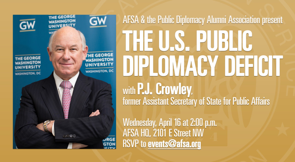 P.J. Crowley event banner