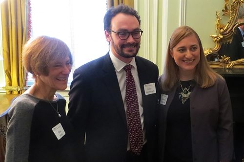 Amb. Greta Morris, Collin Weinberger, and Kathryn Jacobsen