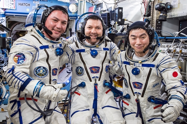 International Space Station crew members