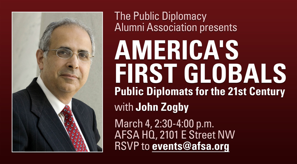 Zogby event banner