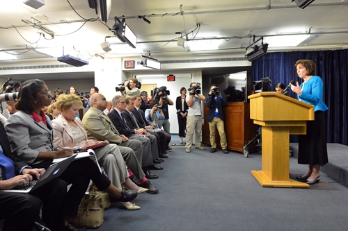 Assistant Secretary Roberta Jacobson at Foreign Press Center