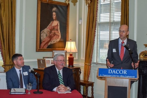 speakers at PDAA's September 24 luncheon discussion.