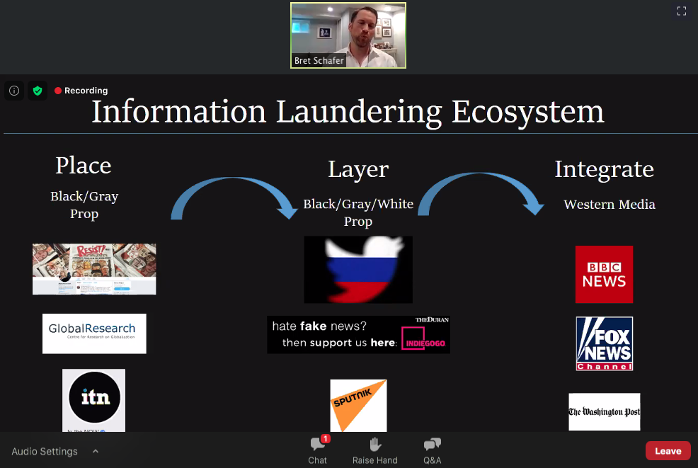 """Perception Hacking"""" and """"Information Laundering"""" Discussed at ..."""